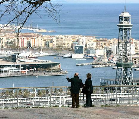 Le belvédère de l'Alcalde de Montjuïc