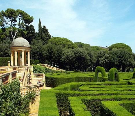Le parc du labyrinthe d'Horta