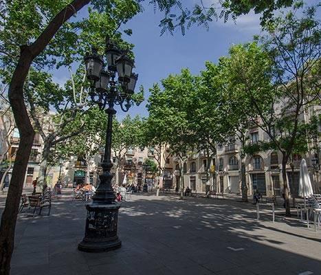 La plaça d'Osca