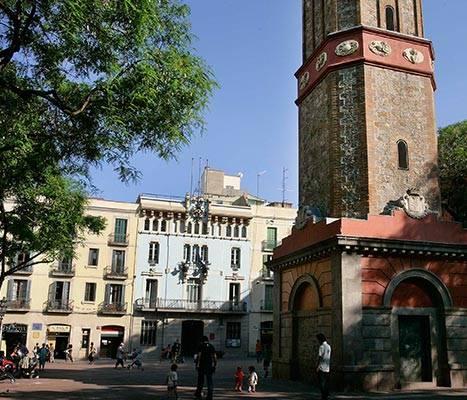 La plaça de la Vila de Gràcia