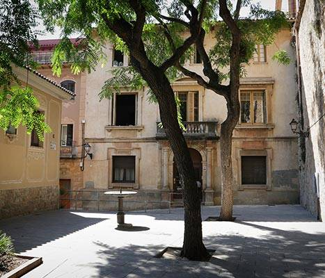 View of Placeta del Roser