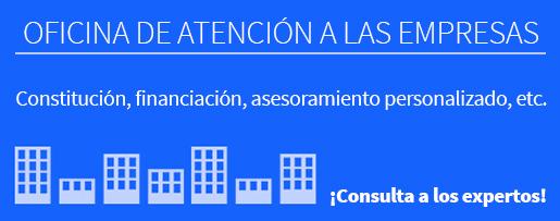 Oficina de atención a las empresas