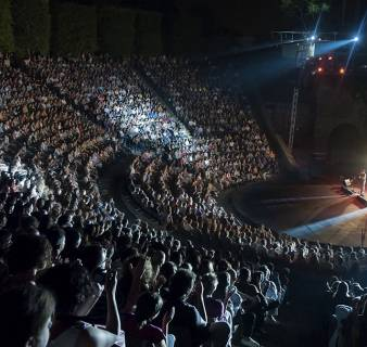 El escenario del Teatre Grec