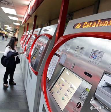 Gare de Plaça Catalunya
