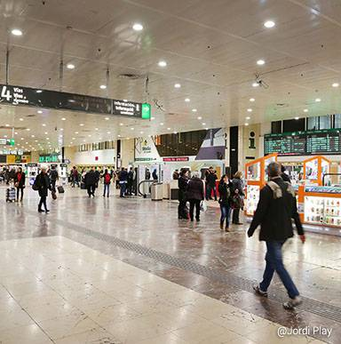 Estación de Barcelona Sants