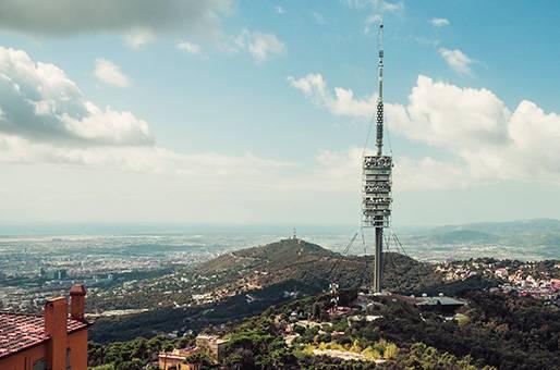 Vista de la Torre de Collserola