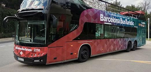 Le Bus touristique de Barcelone