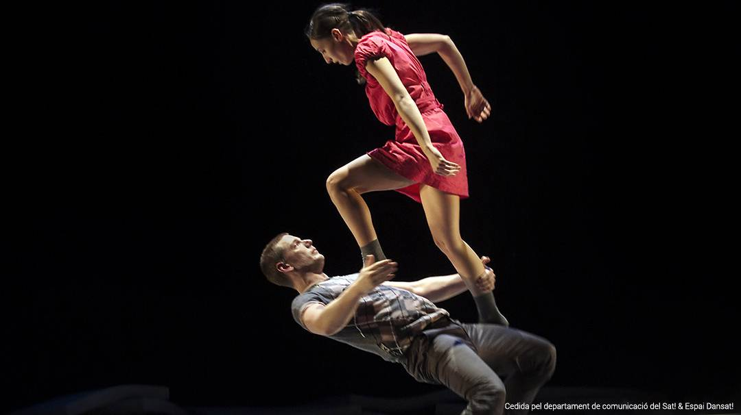 Actuació al festival Dansat!