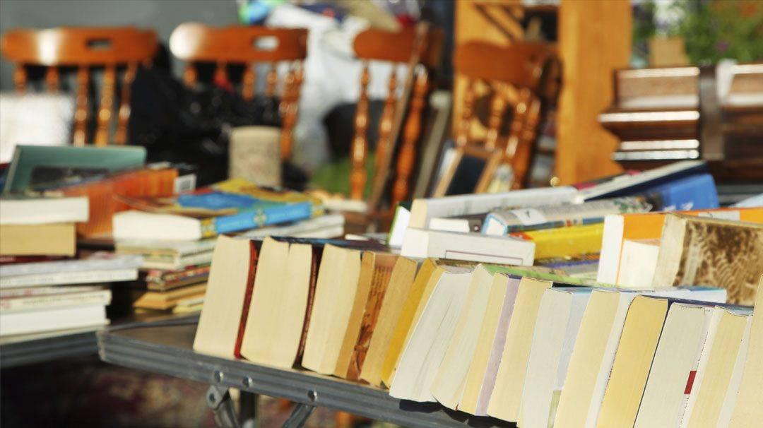 Stands de la Semaine du livre en catalan