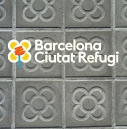 Cartel de Barcelona Ciutat Refugi