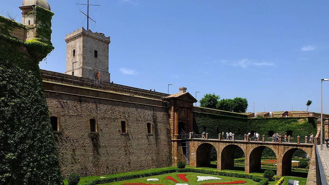 Foso del Castillo de Montjuïc
