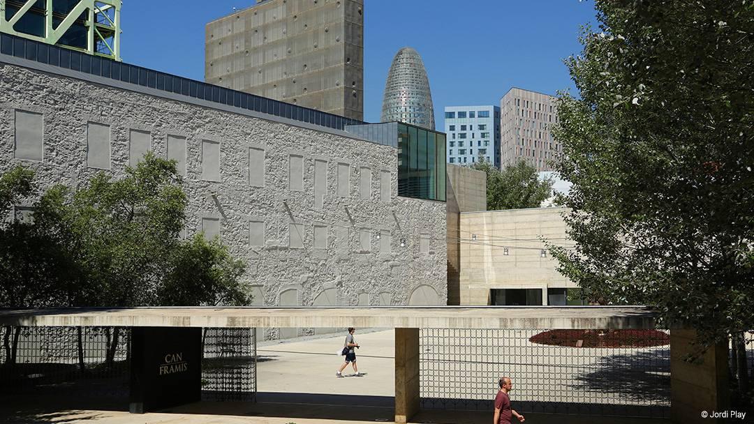 Entrée du Musée Can Framis