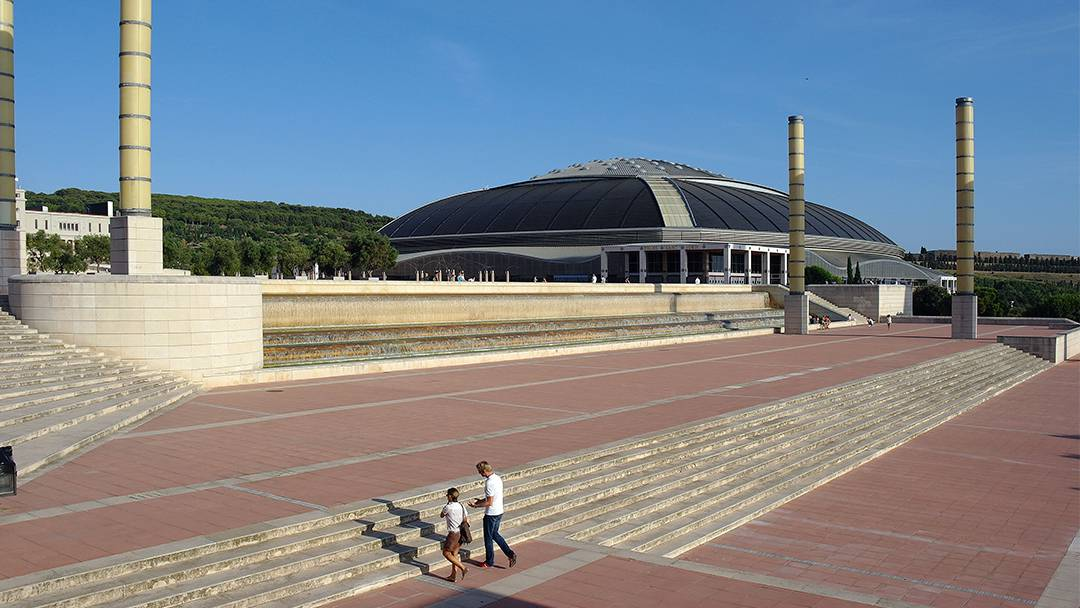 View of the Palau Sant Jordi