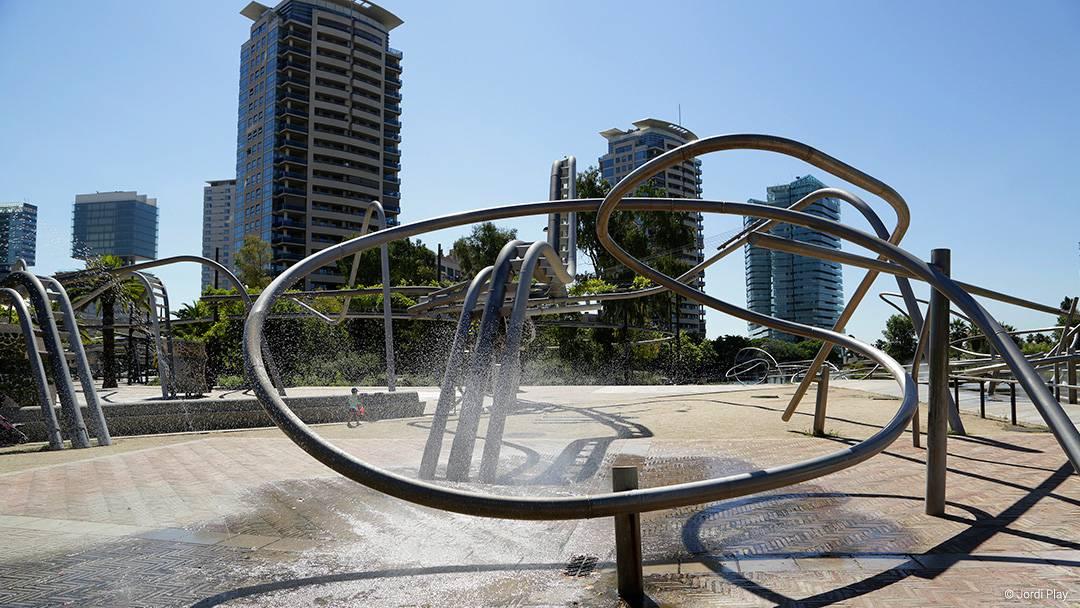 Le parc de Diagonal Mar
