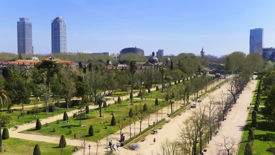 Parque de la ciutadella meet barcelona for Parques de barcelona