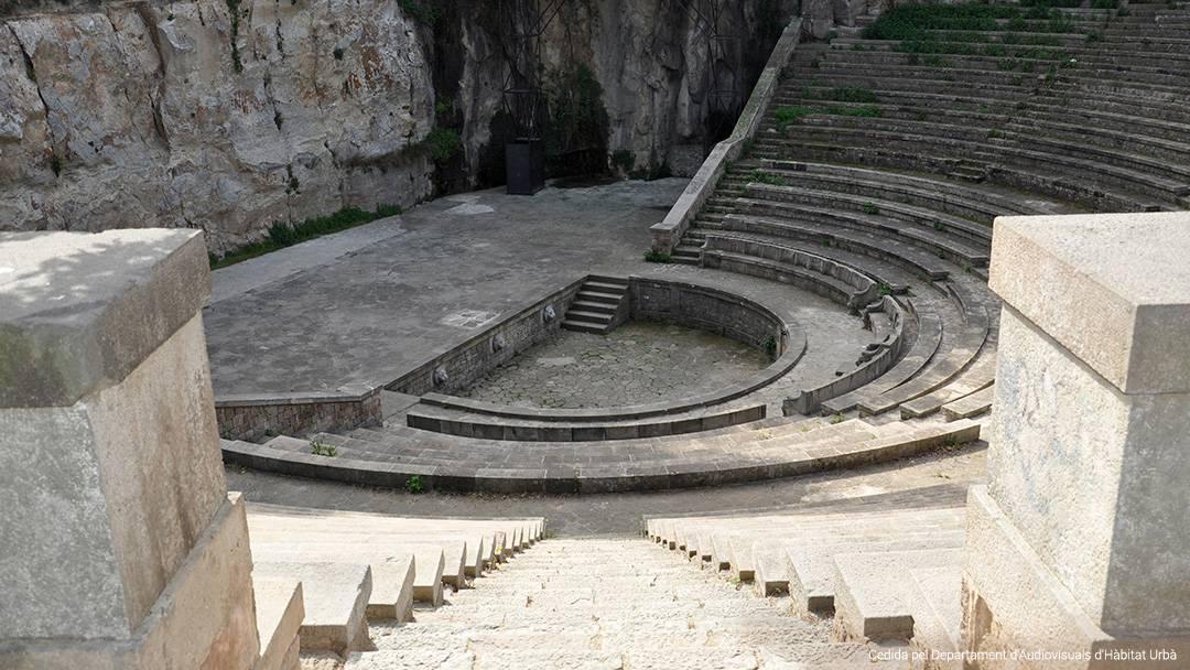 Scène du Théâtre Grec