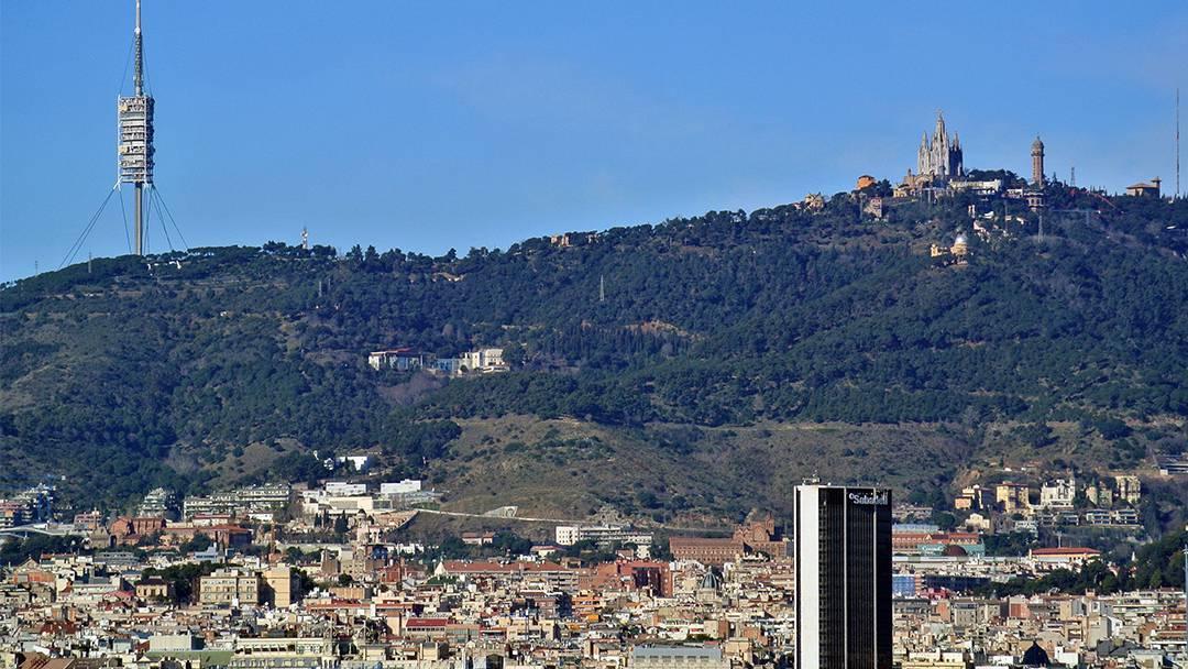 La muntanya del Tibidabo