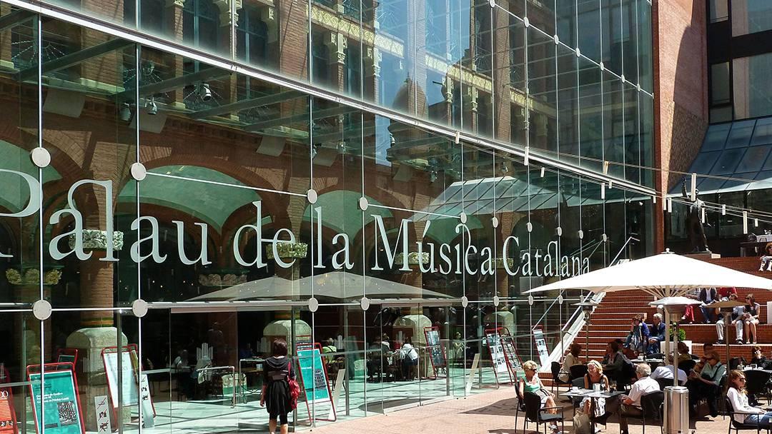 Entrada del Palau de la Música