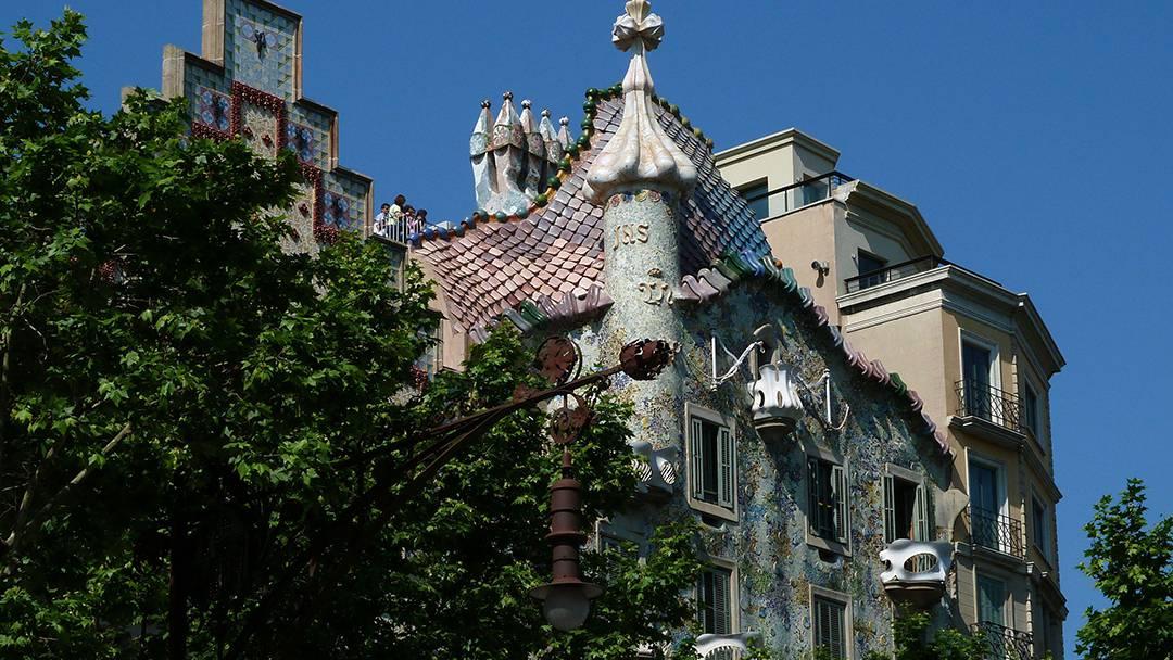 Façade of Casa Batlló