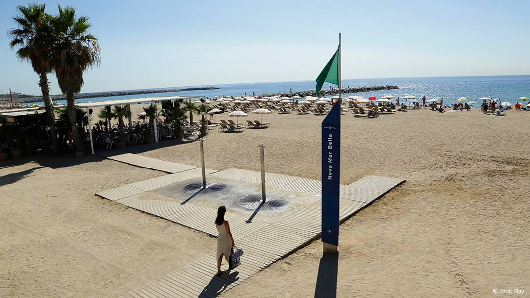 La plage de la Nova Mar Bella
