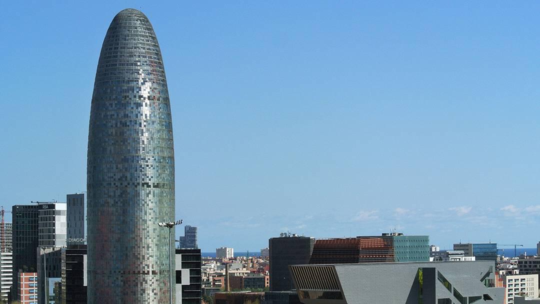 La Tour Agbar dans le 22@