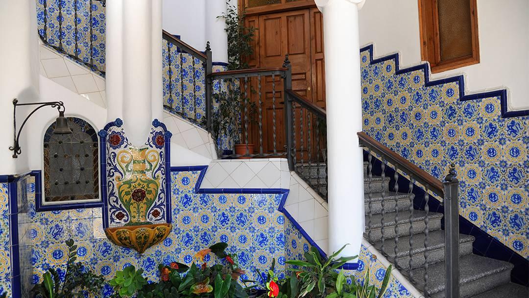 Fontaine intérieure de la Villa Bellesguard