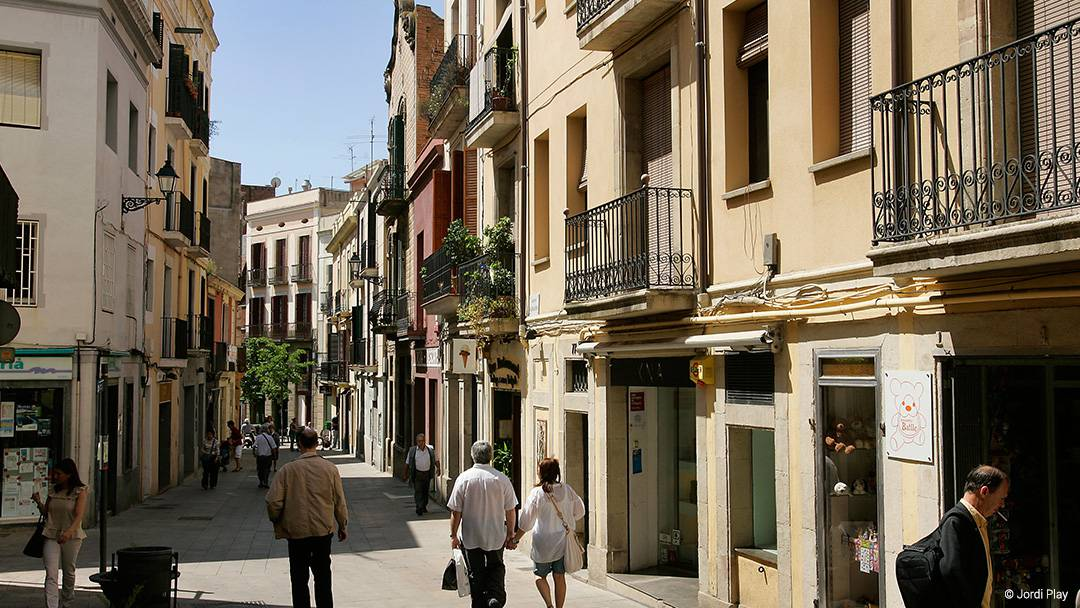 Carrer Major de Sarrià in the Sarrià neighbourhood