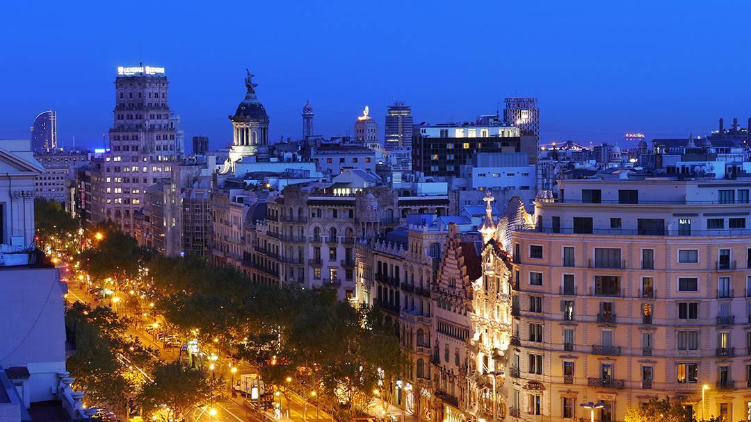 Image result for passeig de gracia barcelona