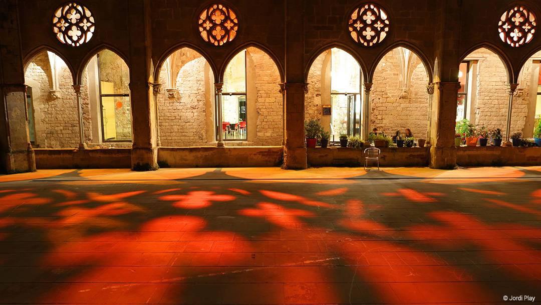 Sant Agustí Convent courtyard