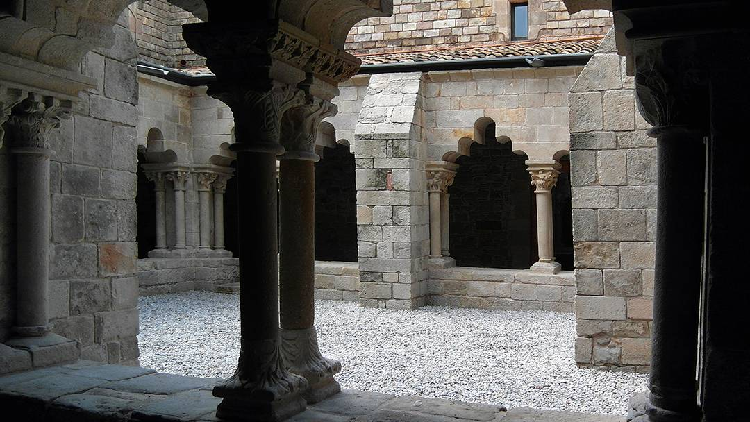 Cloister of Sant Pau del Camp
