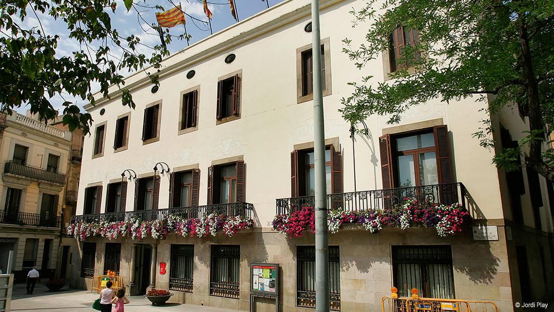La sede del distrito de Sant Andreu