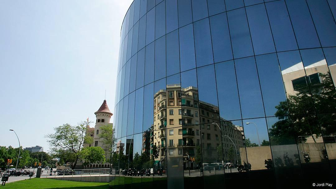 View of the Zona Universitària