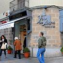 Esquina de la pastelería Foix de Sarrià