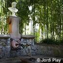 La fontaine d'Hercules au Palau de Pedralbes