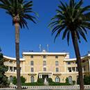 El edificio del Palacio Real de Pedralbes