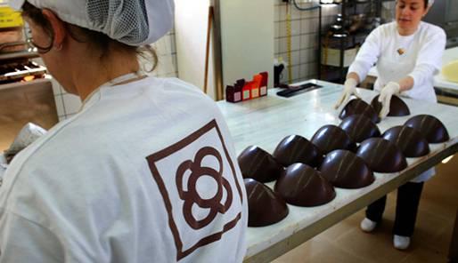 La Barcelone du chocolat