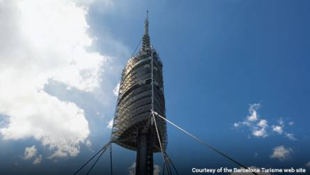 Collserola Tower in Barcelona