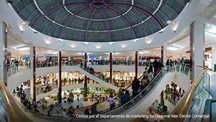 Diagonal Mar shopping centre.