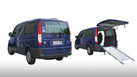 Renting adapted vehicles