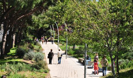Les jardins de Joan Brossa