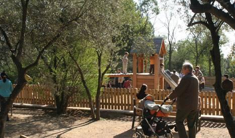 Le parc de l'Oreneta