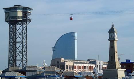 Le téléphérique du port
