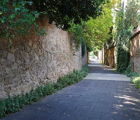 Le chemin de Sant Genís à Horta
