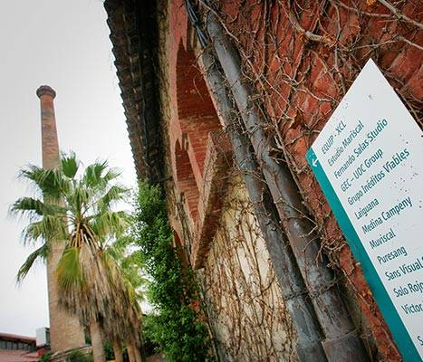 Détail des jardins de la Fundació Palo Alto