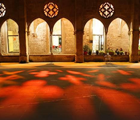 El claustro del Convent de Sant Agustí