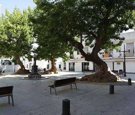 La plaza de Prim