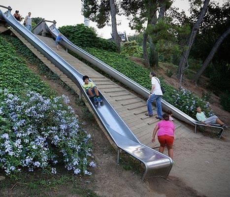 Montjuïc slides